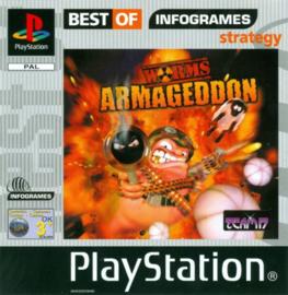 Worms Armageddon Best Of zonder boekje (PS1 tweedehands game)