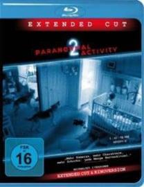 Paranormal Activity 2 Extended Cut Blu-ray + DVD (Blu-ray tweedehands film)