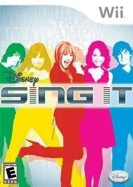 Disney Sing it (wii used game)