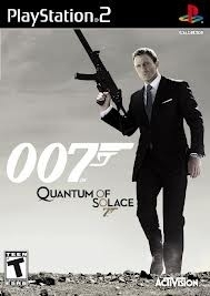 007 Quantum of Solace (ps2 used game)