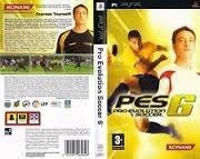 Pro Evolution Soccer 6 PES 6 (psp used game)