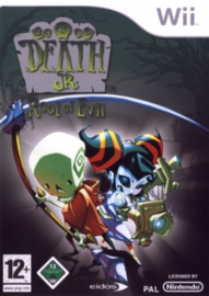 Death Jr. Root of Evil (Nintendo wii tweedehands game)