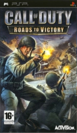 Call of Duty Roads to Victory (psp used game)