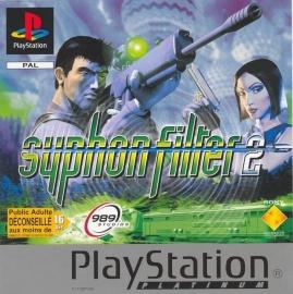 Syphon filter 2 platinum zonder boekje(PS1 tweedehands game)