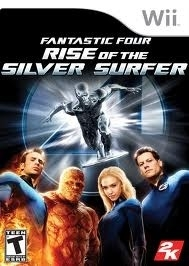 Fantastic Four Rise of the Silver Surfer  zonder boekje (Nintendo Wii used game)