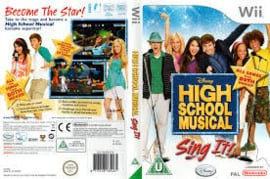 Disney Sing IT High School Musical (Nintendo Wii tweedehands game)