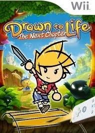 Drawn to Life het nieuwe hoofdstuk zonder boekje (wii used game)