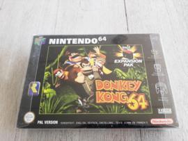 Donkey Kong 64 inclusief Expansion PAK (Nintendo 64 tweedehands game)