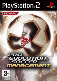 Pro Evolution Soccer Management (ps2 used game)