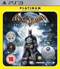 Batman Arkham Asylum platinum (ps3 NIEUW)