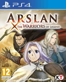 Arslan The Warriors of Legend (ps4 nieuw)