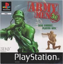 Army Men 3D zonder boekje  (PS1 tweedehands game)