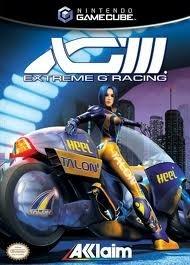 Extreme-G racing  XG3 (Gamecube used game)
