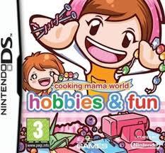 Cooking Mama World Hobbies and Fun (Nintendo DS nieuw)