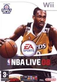 NBA live 08 (Nintendo Wii tweedehands  game)