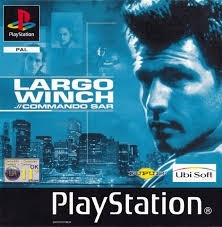 Largo Winch .// Commando Sar zonder boekje (PS1 tweedehands game)