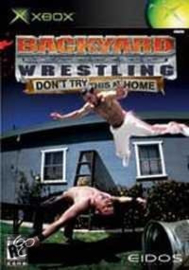 Backyard wrestling Don't try this at home (XBOX tweedehands game)