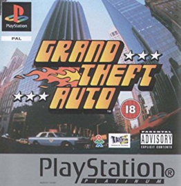 Grand Theft Auto platinum (PS1 tweedehands game)