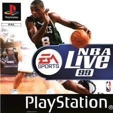 NBA Live 97 (ps1 tweedehands game)