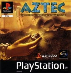 Aztec The Curse in the Heart of the City of God zonder cover (PS1 tweedehands game)