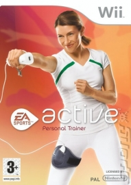 EA Active Personal Trainer game only  (Nintendo Wii used game)