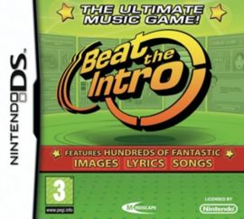 Beat The Intro zonder boekje (Nintendo DS tweedehands game)