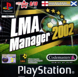 LMA Manager 2002 (ps1 used game)