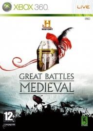 History Great Battles Medieval (Xbox 360 tweedehands game)