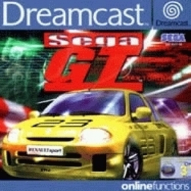 Sega GT (Sega Dreamcast tweedehands game)