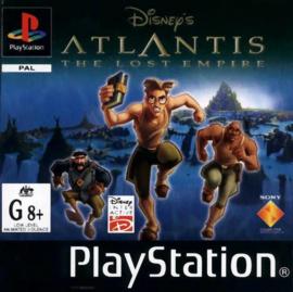 Disney's Atlantis The Lost Empire beschadigd doosje(PS1 tweedehands game)