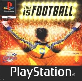 This is Football zonder boekje (PS1 tweedehands game)