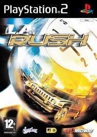 L.A. Rush zonder boekje (ps2 tweedehands game)
