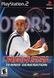 Agassi Tennis Generation (ps2 used game)