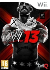W13 WWE (Nintendo wii tweedehands game)