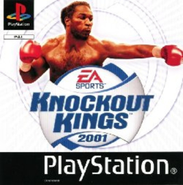 Knockout Kings 2001 (ps1 used game)