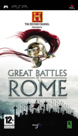 The History Channel Great Battles of Rome (PSP tweedehands Game)