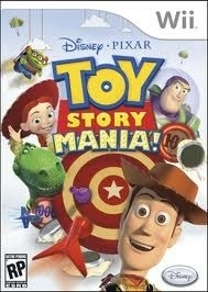 Toy Story Mania zonder 3d brillen (wii used game)