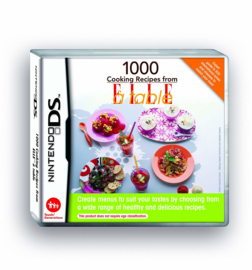 1000 Cooking Recipes From ELLE a Table (Nintendo DS tweedehands game)
