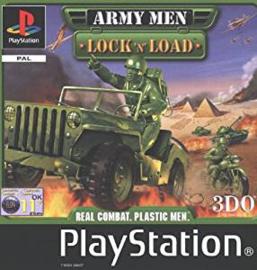 Army Men Lock 'n' Load zonder boekje (PS1 tweedehands game)