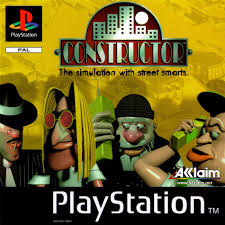 Contsructor (PS1 tweedehands game)