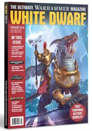 White Dwarf Februari 2019 Magazine  (Warhammer Nieuw)