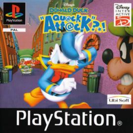 Disney's Donald Duck Quack Attack  (ps1 tweedehands game)