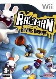 Rayman Raving Rabbids (wii used game)