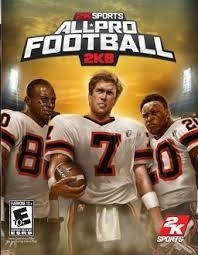 All-Pro Football 2k8 (ps3 used game)