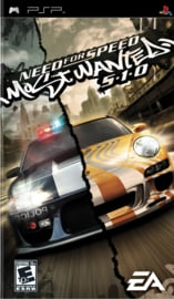 Need for Speed Most Wanted 510 zonder boekje (psp tweedehands game)