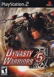 Dynasty Warriors 5 beschadigde cover (ps2 used game)