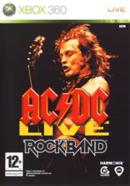 ACDC Live Rockband (Xbox 360 nieuw)