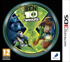 Ben 10 Omniverse cover beschadigd (Nintendo 3DS tweedehands game)