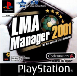 LMA Manager 2001 (PS1 tweedehands game)
