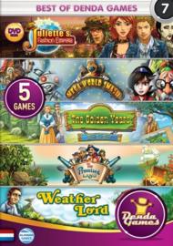 Best of Denda Games 7 - 5 spellen in 1 (PC game nieuw)